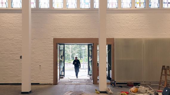 Neues von der Baustelle Heilandkirche