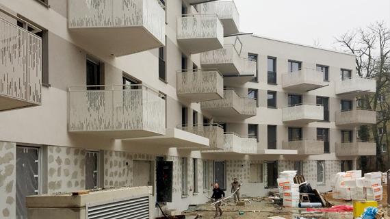 Baufortschritt Holsteinstrasse