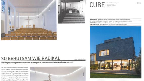 Veröffentlichung Cube HEI